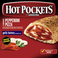 Hot Pockets meatPepperoni