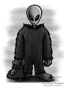 bigfoot-costume-gray-alien-cartoon-sketch-coghill